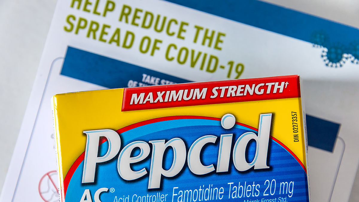 Widely Available Indigestion Drug May Curb COVID-19 Symptoms in Mild to Moderate Disease