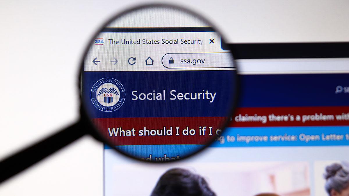 """Konto """"my Social Security"""" w internecie"""