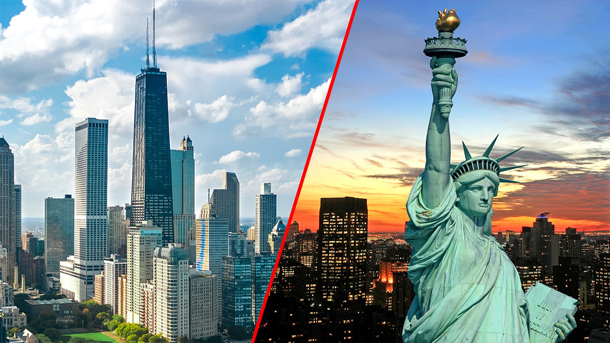 PLL LOT: Charter flights to the United States: Warsaw to Chicago (ORD) and Warsaw to New York (JFK)