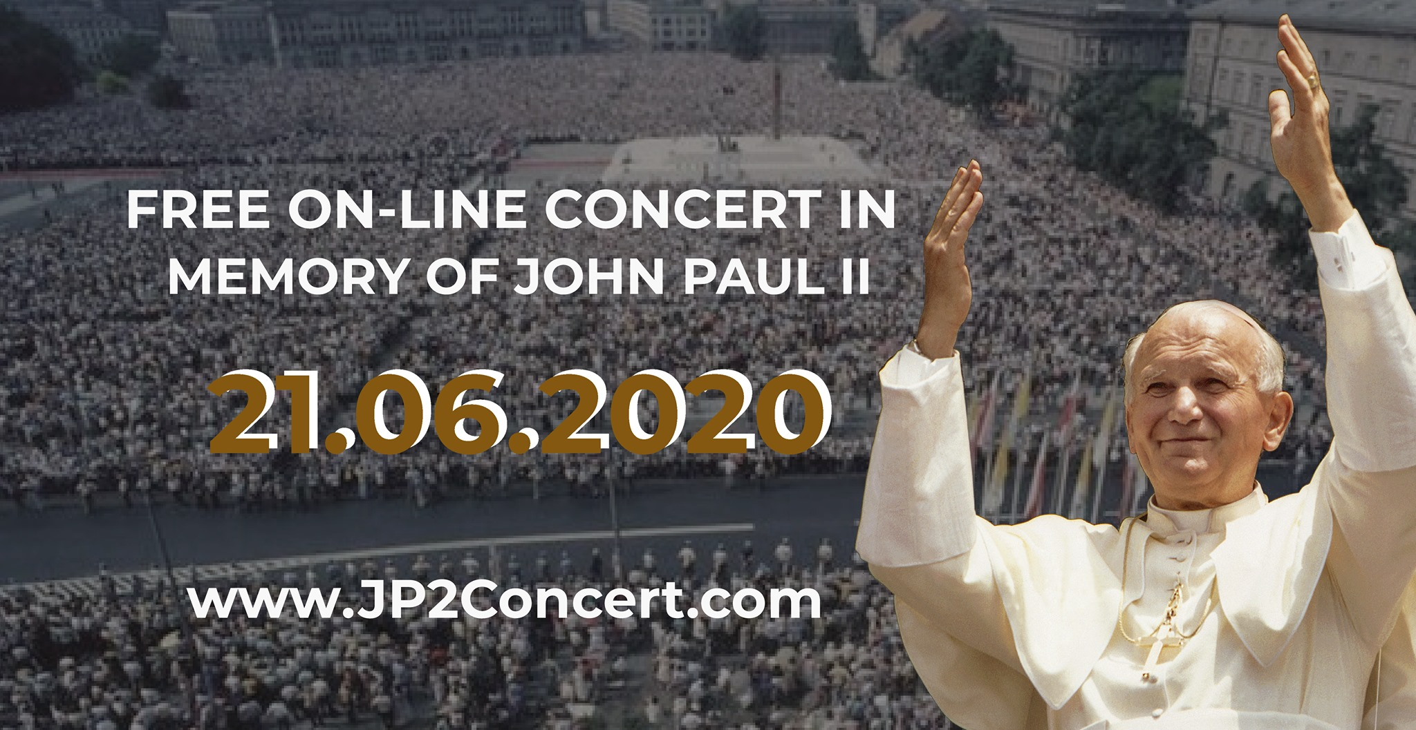 Concert in Memory of John Paul II - Online this Sunday, June 21