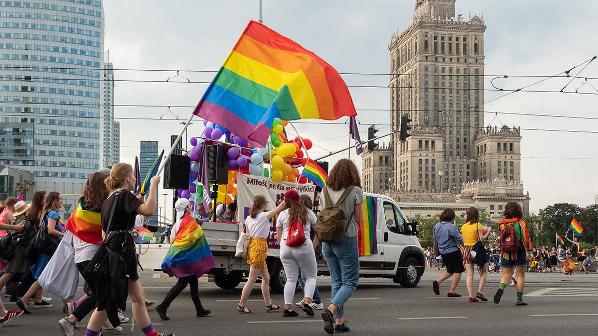 Wyborczy spór o LGBT+ w Polsce