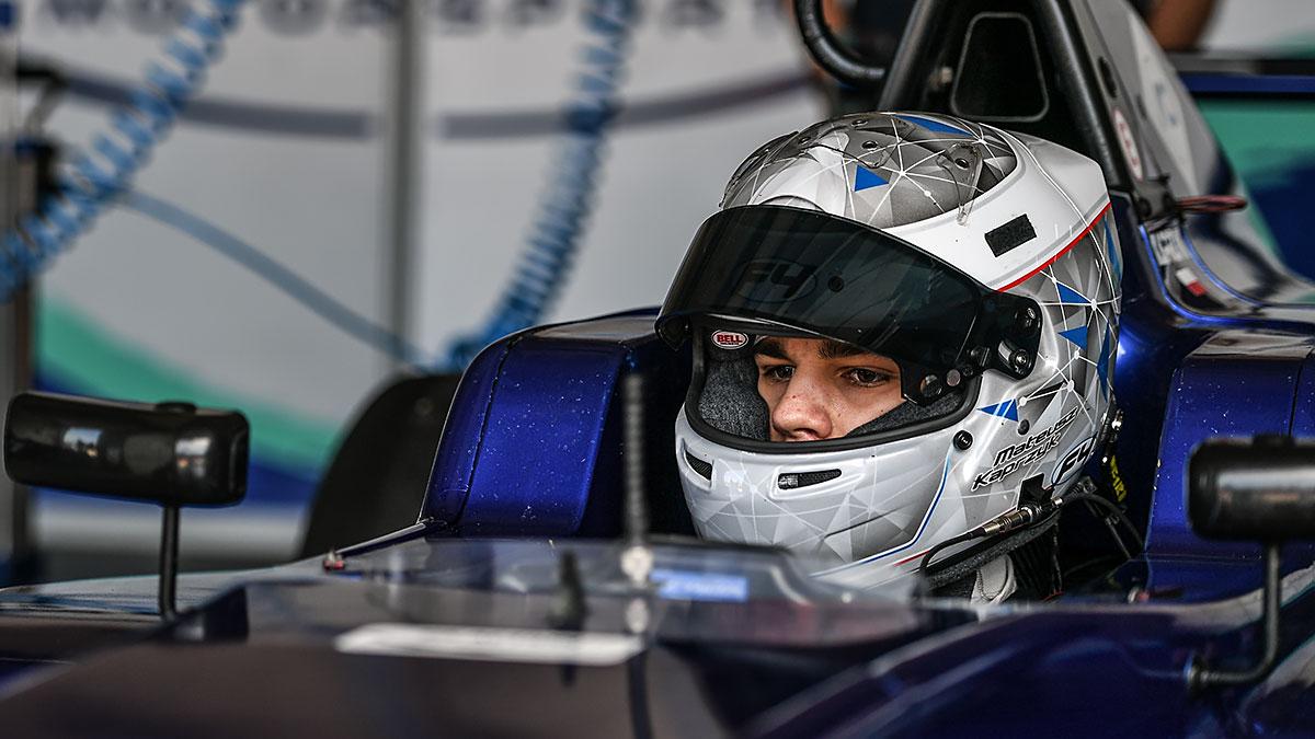 Mateusz Kaprzyk po udanych testach F4 na Imoli