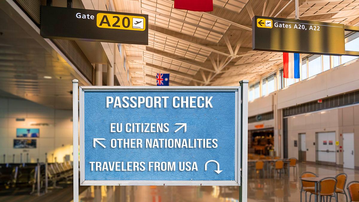 Zakaz wjazdu obywateli amerykańskich do UE