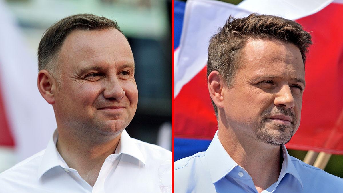Duda i Trzaskowski zmierzą się w drugiej turze. Pierwsze wyniki sondaży powyborczych