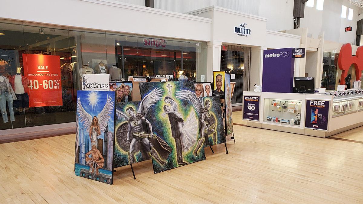 Chicago: wystawa sztuki polskiej artystki Marty Sytniewskiej w centrum handlowym Gurnee Mills