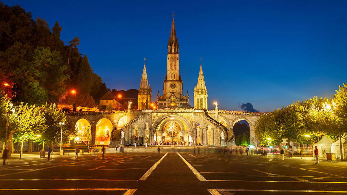 Wirtualna pielgrzymka do Lourdes