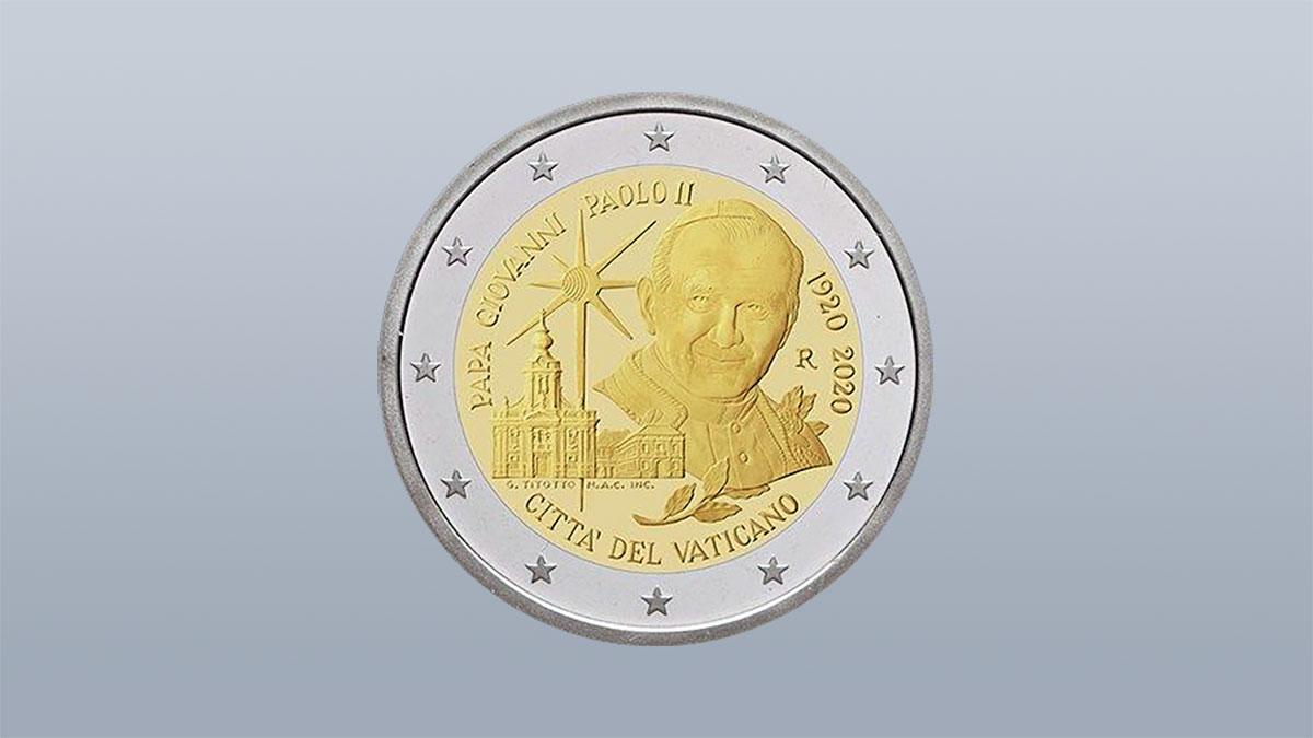 Moneta z Janem Pawłem II