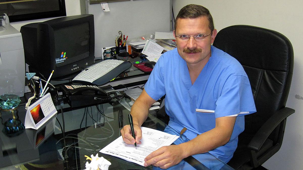 Najważniejszy jest kontakt z lekarzem jeśli miałeś wypadek