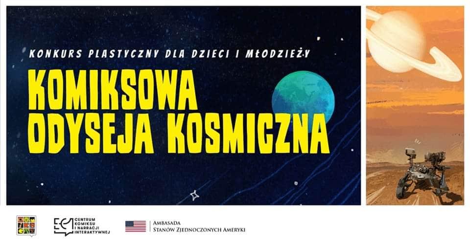 """Konkurs """"Komiksowa Odyseja Kosmiczna"""""""