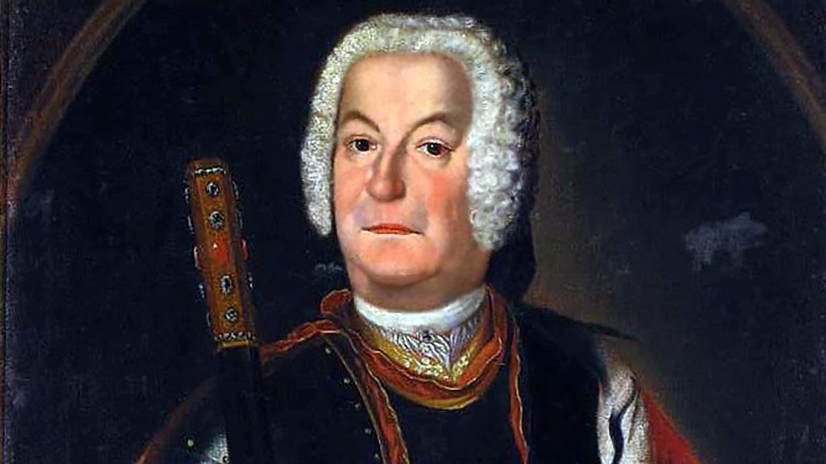 Paweł Karol Sanguszko - Pułkownik Gwardii Litewskiej