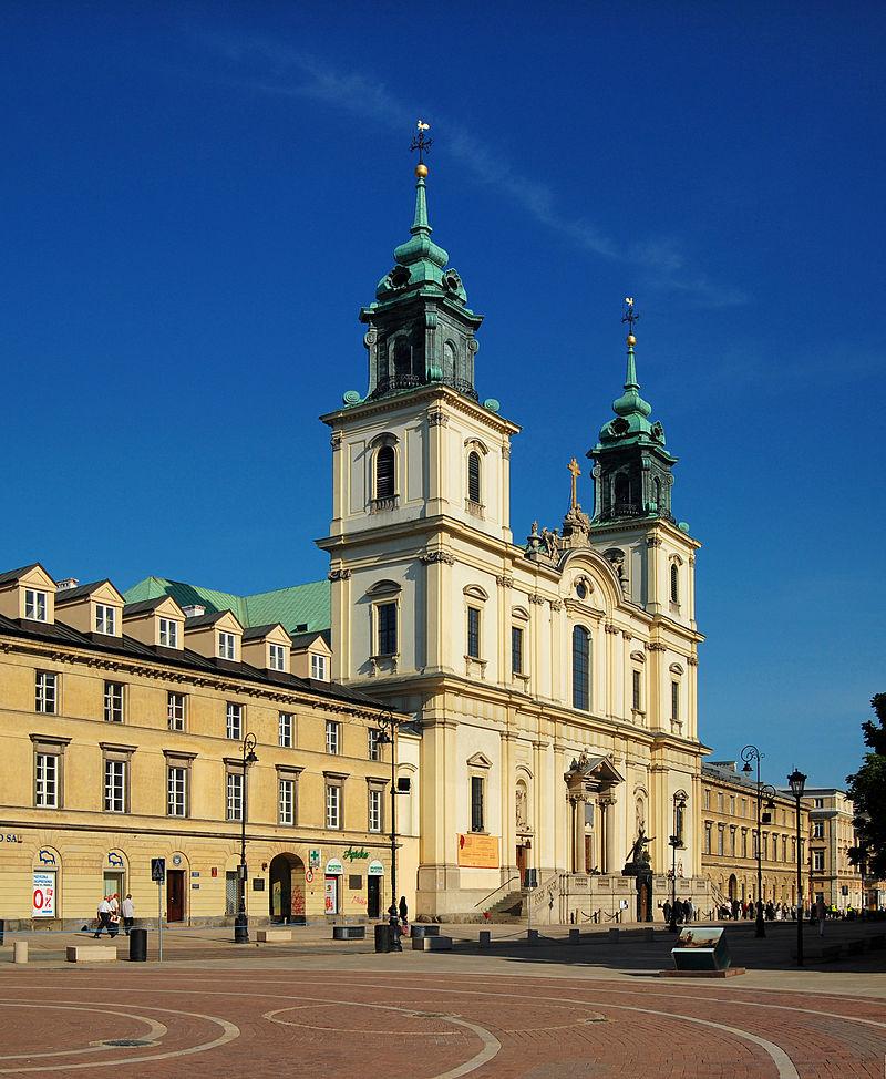 Historia rzeźby Chrystusa sprzed warszawskiego kościoła pw. Św. Krzyża