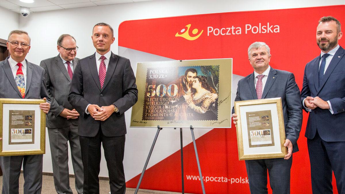 Poczta Polska uczciła 500. urodziny Zygmunta II Augusta