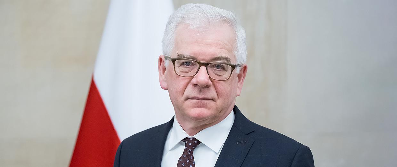 Jacek Czaputowicz, szef MSZ do dymisji