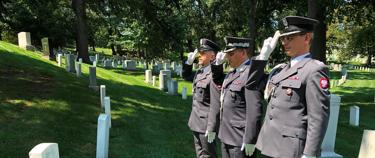 Tribute to the American Airmen who Volunteered for the Polish-Bolshevik war of 1920