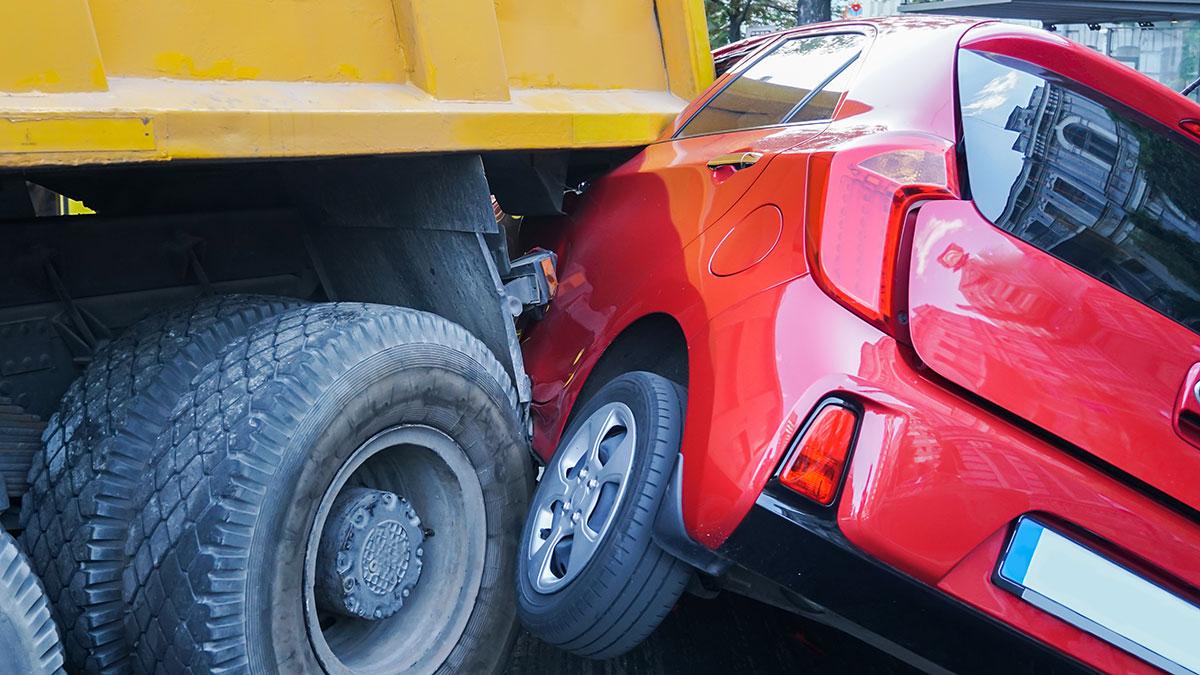 Wypadek drogowy w Nowym Jorku