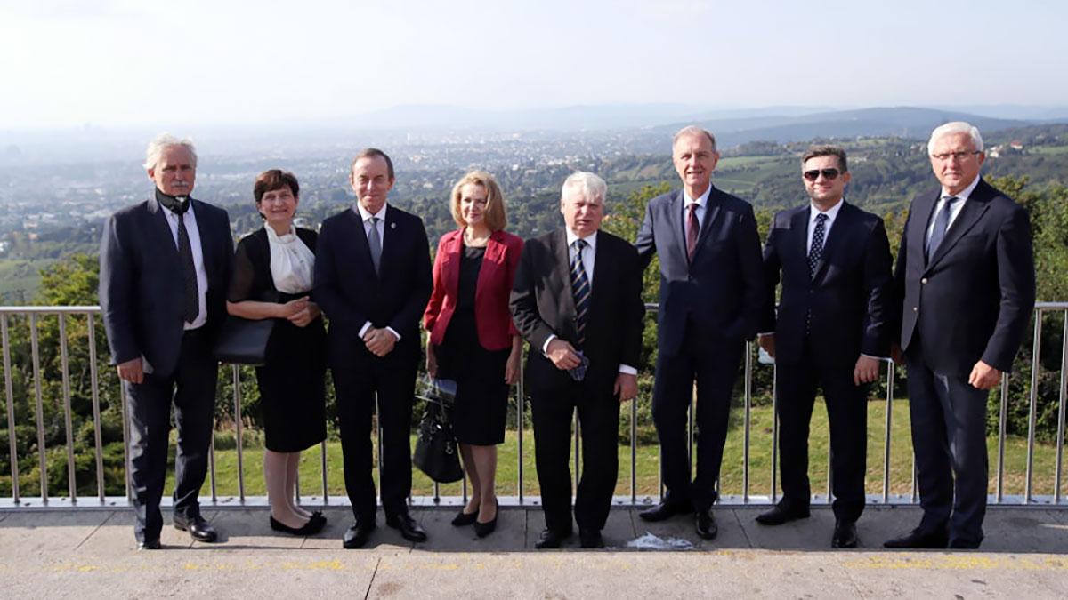 Wizyta Marszałka Senatu RP wraz z delegacją w Austrii