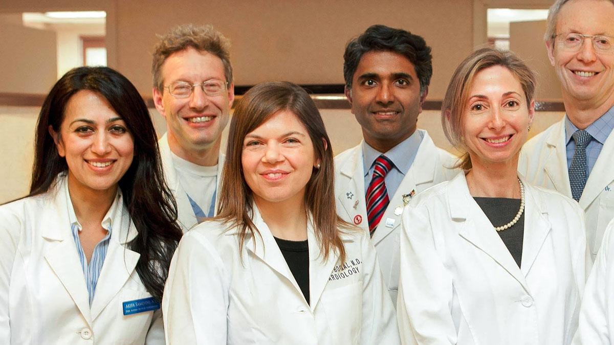 Polski lekarz kardiolog Monika Bogal w przychodni na Manhattanie w Nowym Jorku