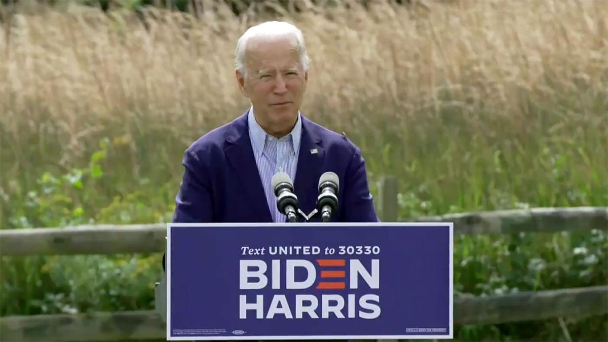 """Joe Biden: Zmiany klimatyczne to nie """" Hoax"""", są prawdziwe i wymagają akcji"""