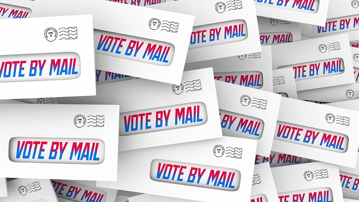 Głosowanie na Prezydenta USA w dobie koronawirusa. Voting by Mail-In Absentee Ballot