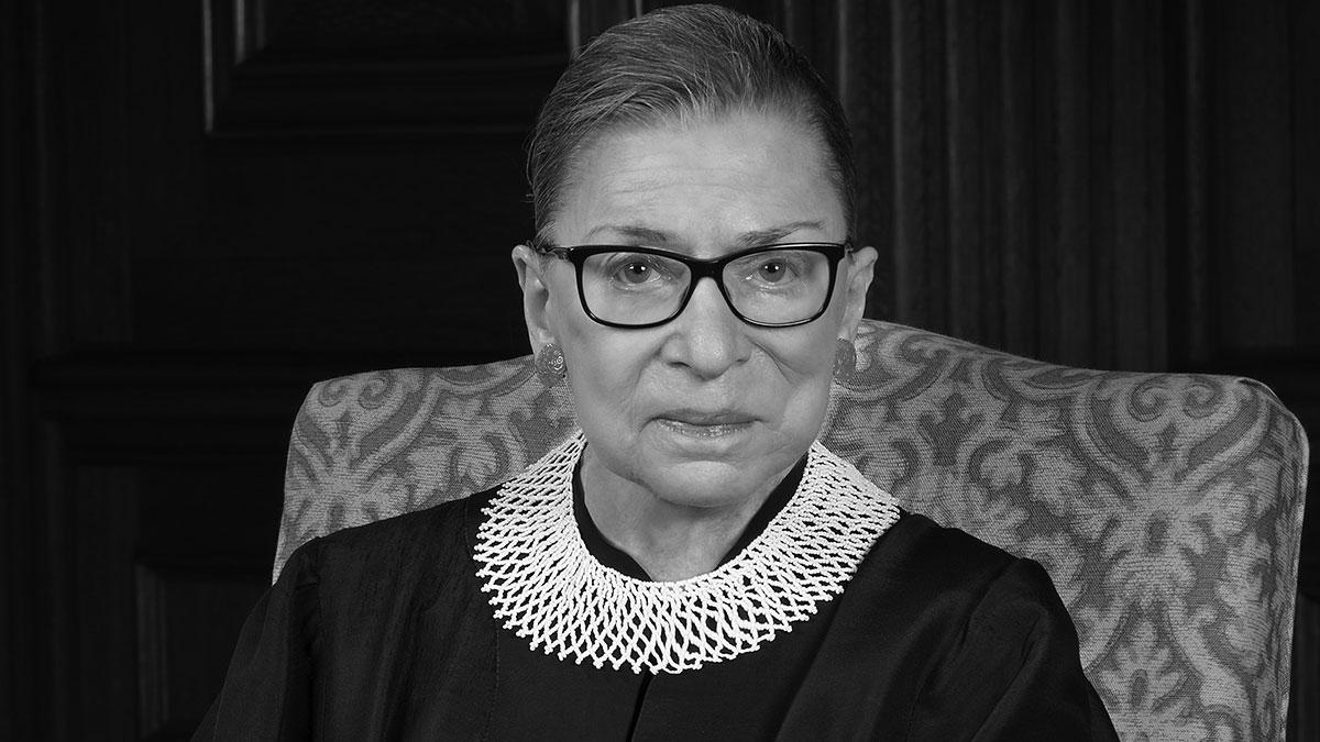 Ruth Bader Ginsburg nie żyje, sędzia Sądu Najwyższego zmarła w Waszyngtonie