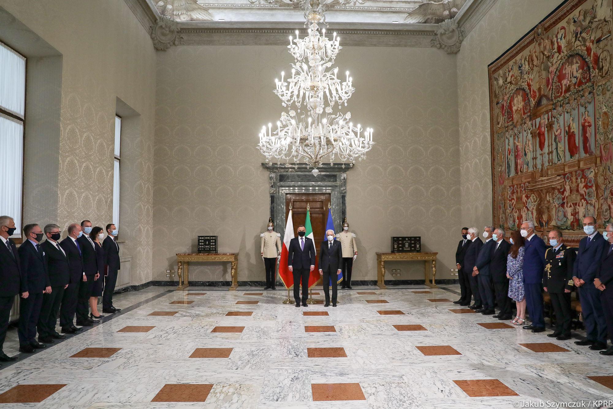 Prezydent Andrzej Duda  w Rzymie