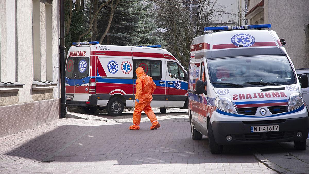 Polska ma rekordowy wzrost przypadków koronawirusa