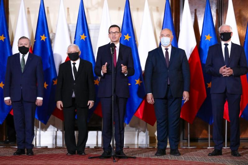 Prezes PiS Jarosław Kaczyński wicepremierem w nowym rządzie