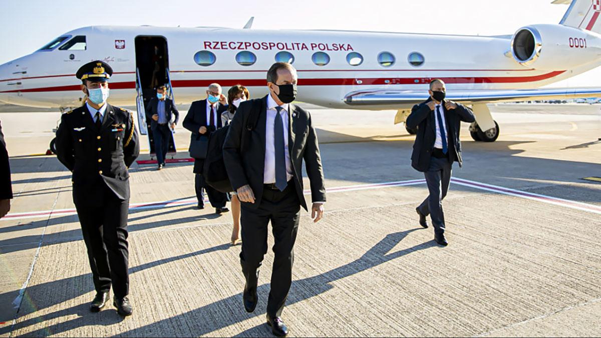 Drugi dzień wizyty Marszałka Senatu RP wraz z delegacją w Rzymie