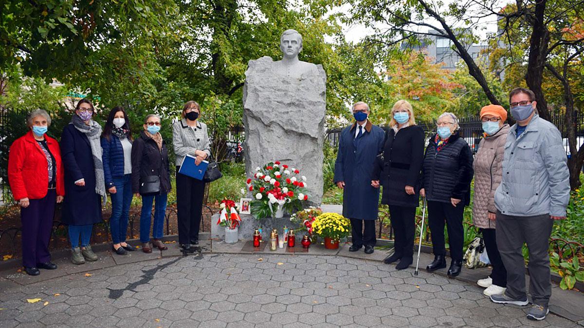 W Nowym Jorku Polonia uczciła 36. rocznicę męczeńskiej śmierci bł. ks. Jerzego Popiełuszki