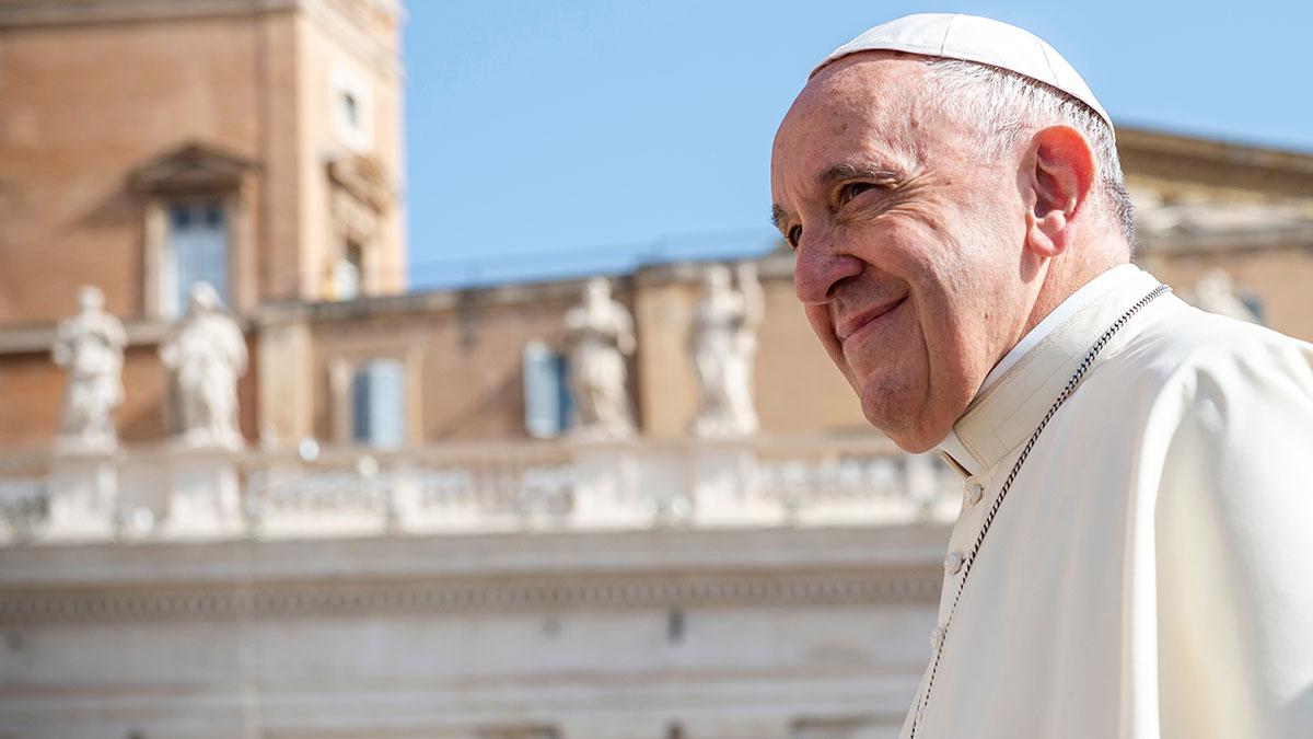 Papież oficjalnie za związkami cywilnymi tej samej płci