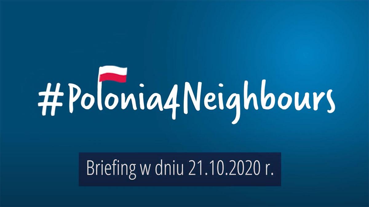 Włącz się i dalej wspieraj inicjatywę #Polonia4Neighbours
