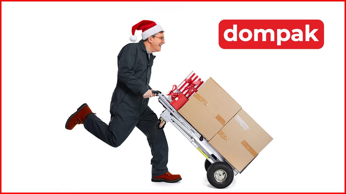 Na święta Bożego Narodzenia, paczki do Polski, Słowacji, Czech wyślij z DOMPAK