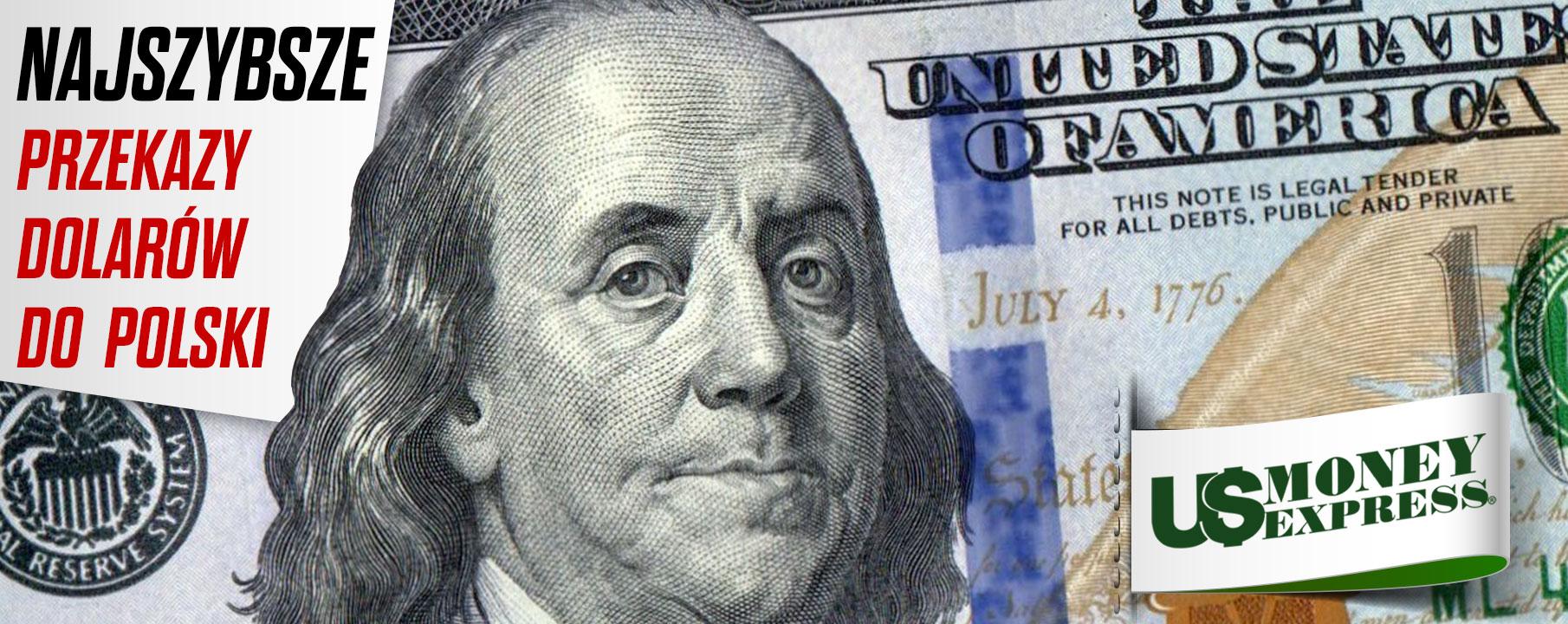 US Money Express dostarcza dolary z Ameryki do domu odbiorcy w Polsce
