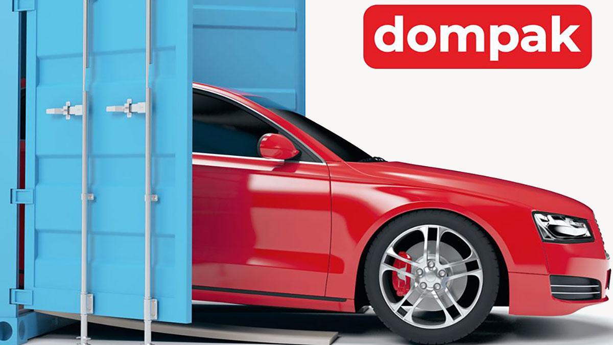 Transport samochodów do Polski z USA z Dompak
