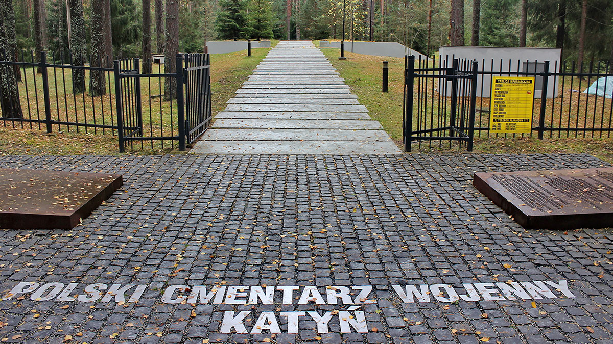 Support the Resolution to Commemorate Soldiers and Civilians Who Were Murdered by the NKVD at the Katyn Forest