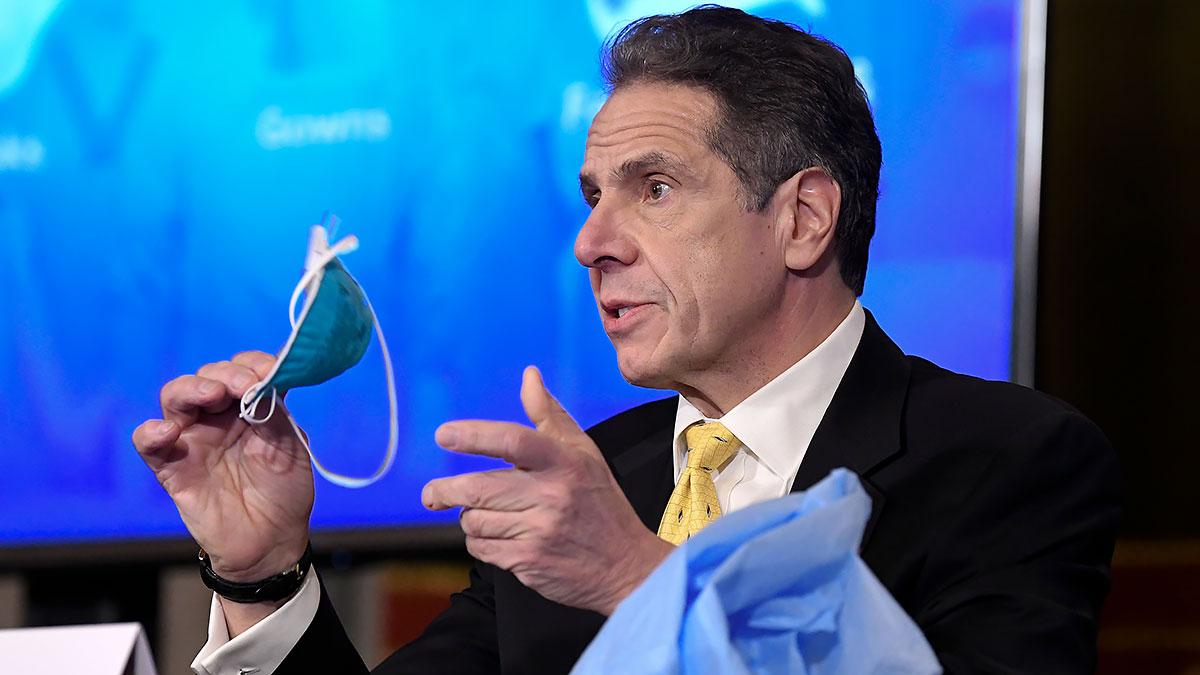 Cuomo poinformował o działaniach dotyczących szczepień w stanie Nowy Jork