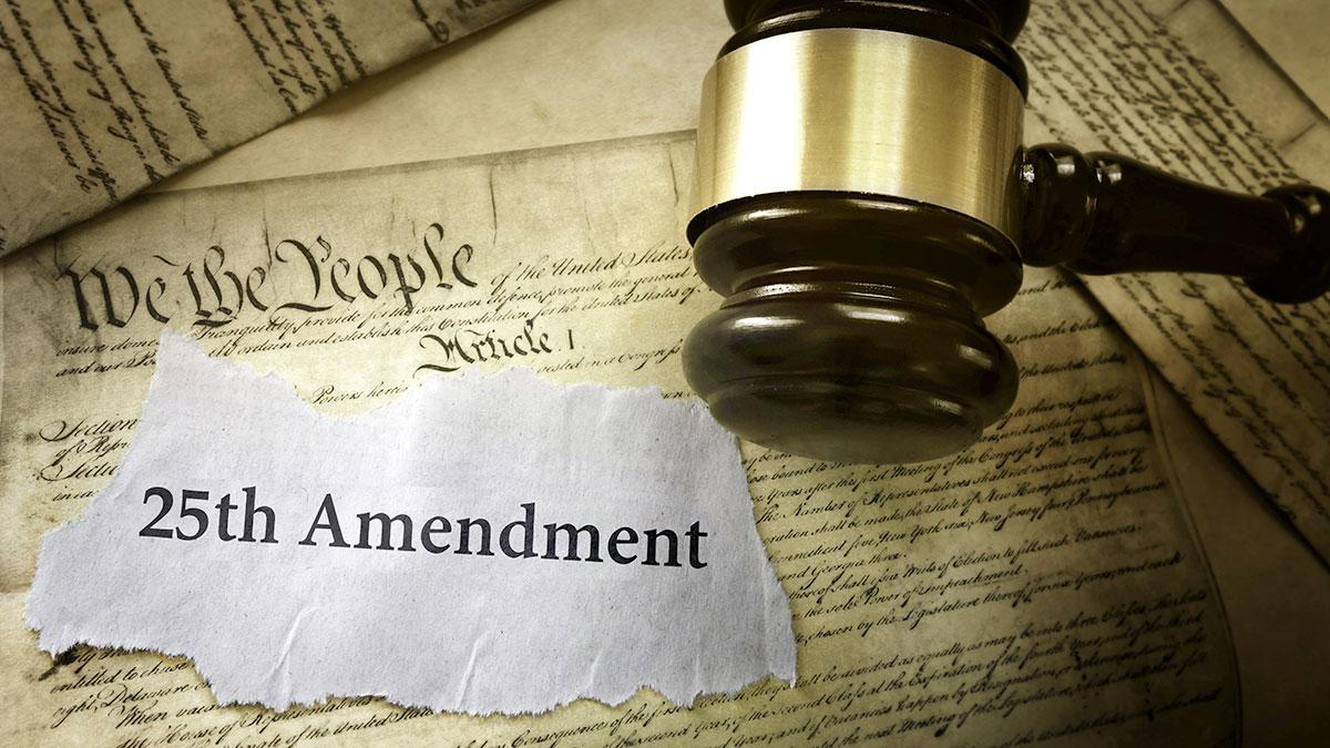 Co to jest 25. Poprawka do Konstytucji Stanów Zjednoczonych?