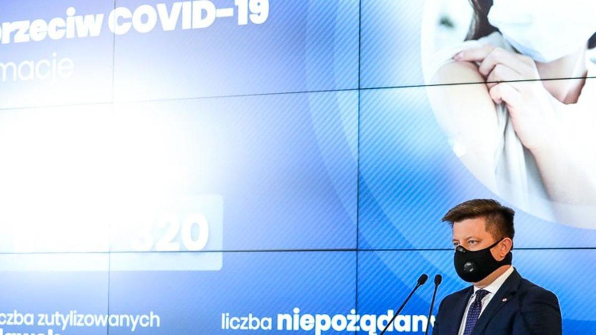 Polska za Niemcami i Włochami w ilości zaszczepionych na terenie EU