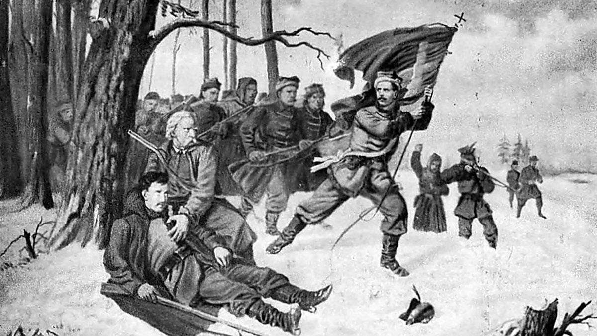 Faustyn Gryliński - dowódca w powstaniu styczniowym