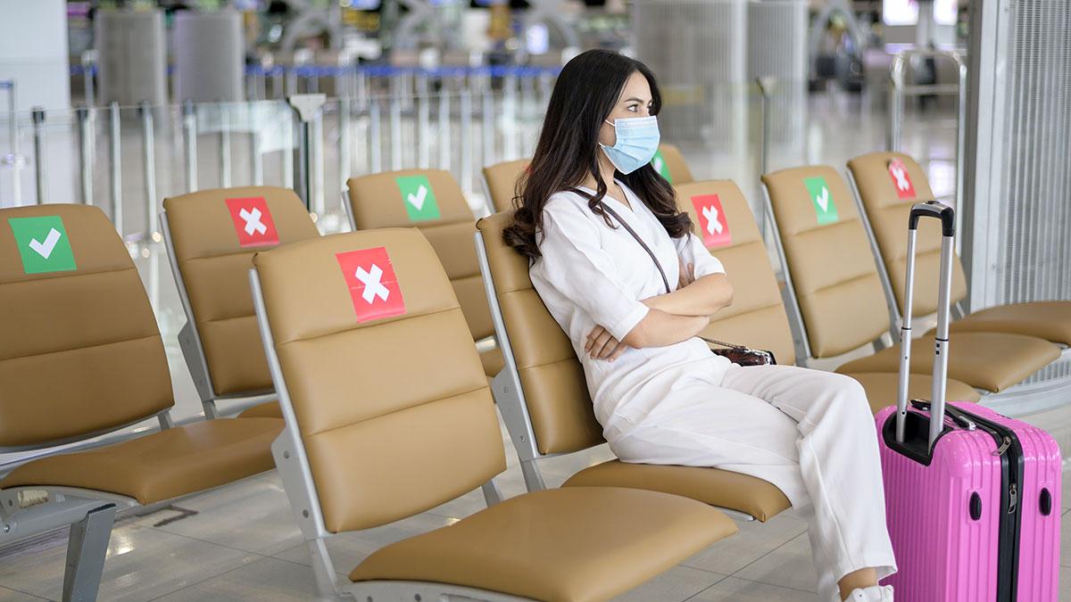 Zarządzenie wykonawcze nakazujące noszenie masek w czasie podróży