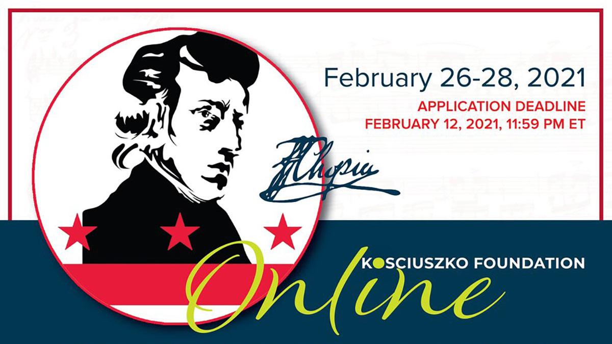 Kosciuszko Foundation Online Chopin Piano Academy 2021