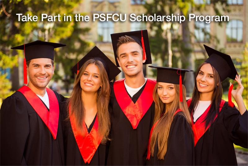 PSFCU. Scholarship Program for College Students in 2021