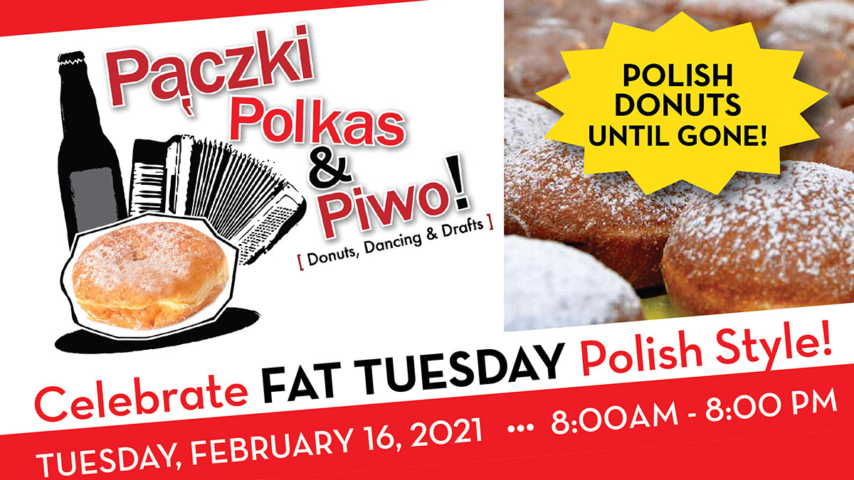 It's Pączki Time! Pączki, Polkas & Piwo, Youngstown, OH