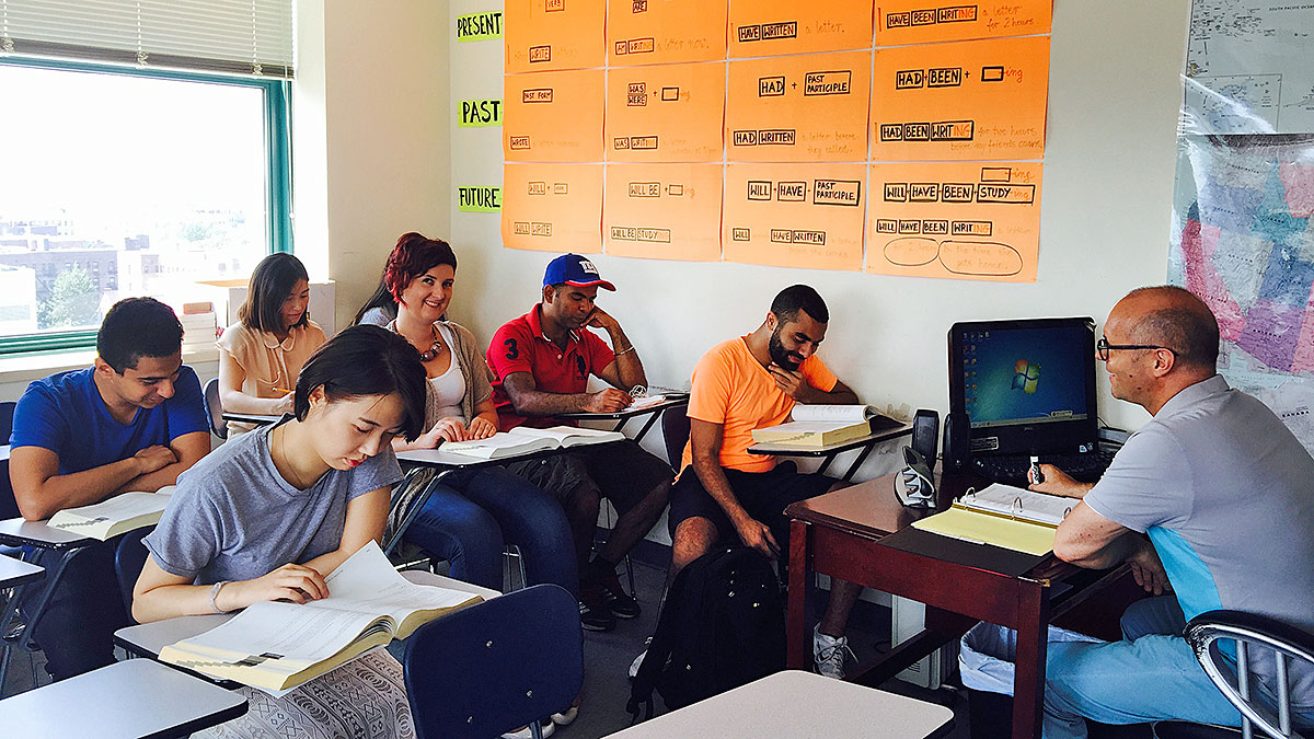 Learn English in NJ at CAMPUS Education
