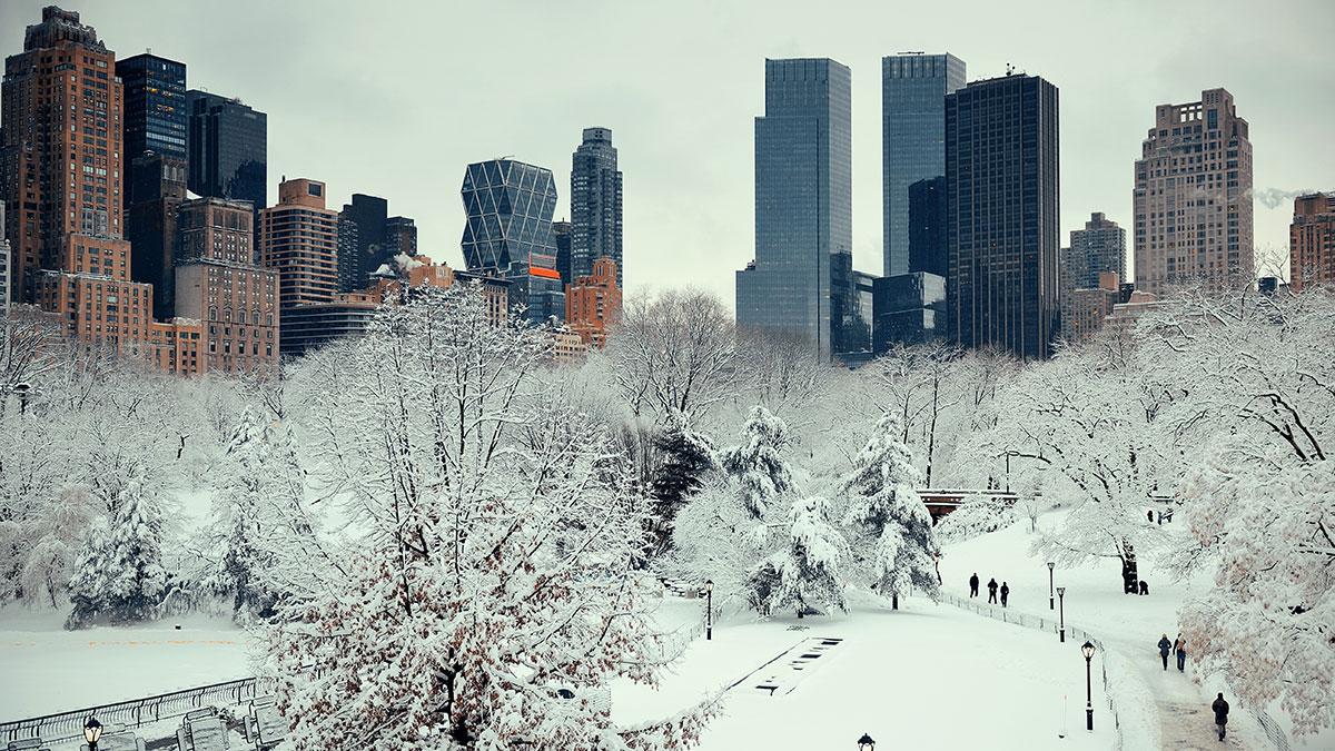Ostrzeżenie przed burzą śnieżną w stanie Nowy Jork w najbliższy czwartek