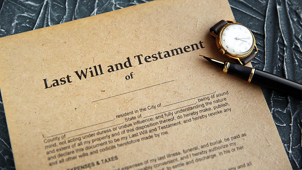 Sporządź Testament - Nie czekaj!