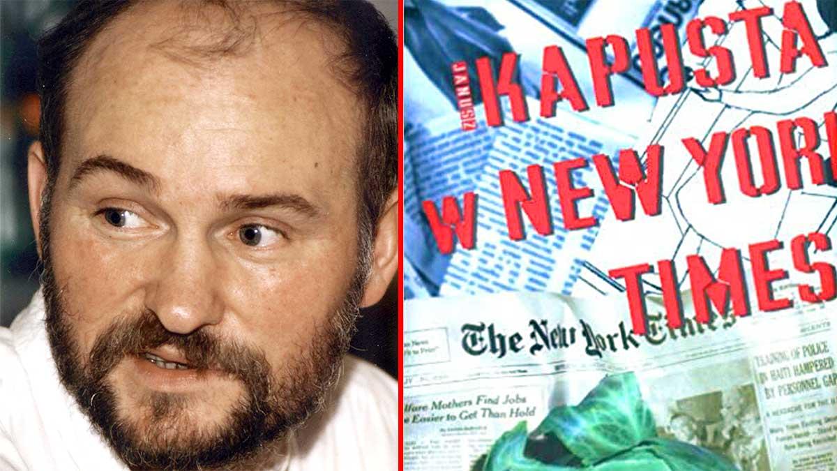 """Janusz Kapusta w New York Times"" - nowość w księgarni EK Polish Bookstore w NJ i online"