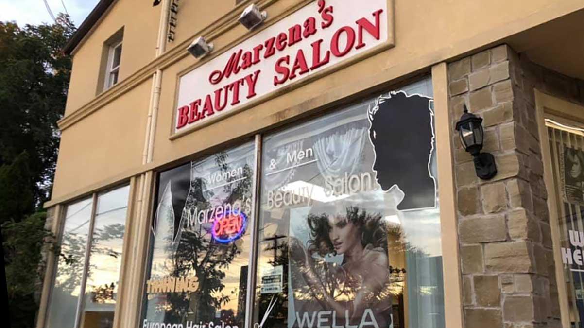 Polski zakład fryzjerski damsko-męski w Nowym Jorku - Marzena's Beauty Salon
