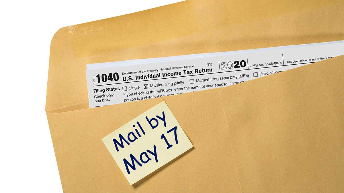 IRS: New Tax Day 2021 for Individuals is May 17