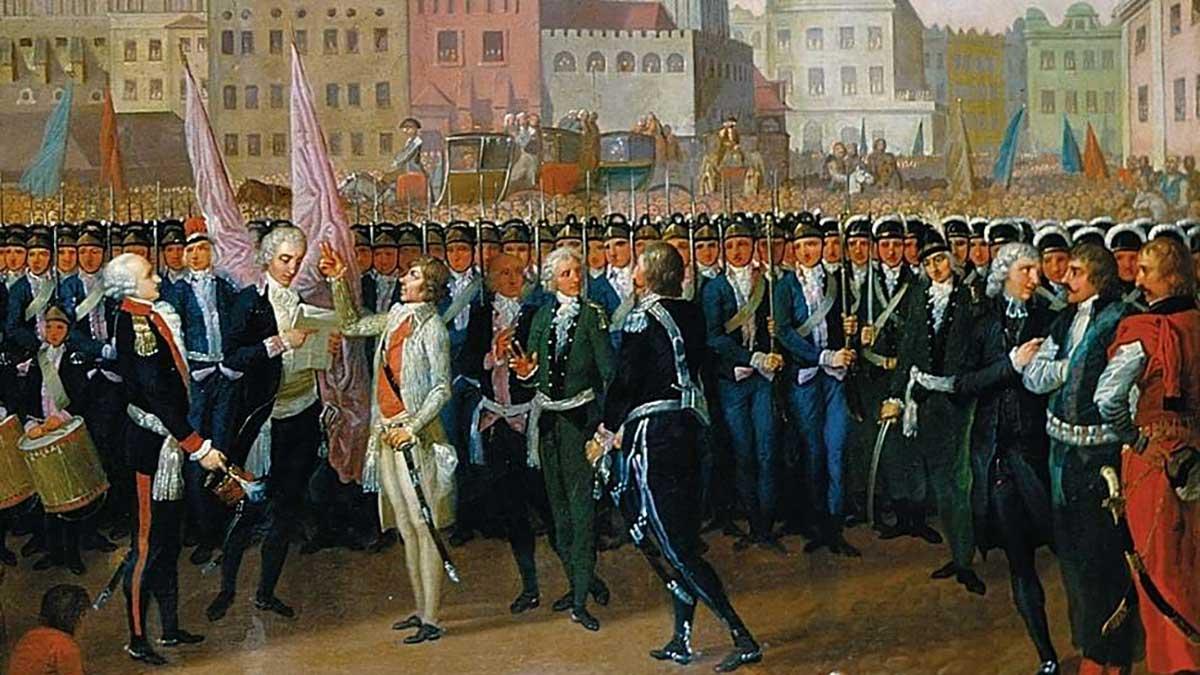 U boku Tadeusza Kościuszki - Paweł Muchowski, polski generał i powstaniec